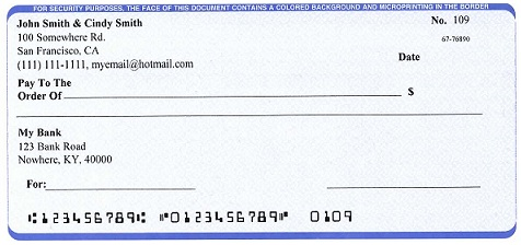 how to get a big cheque