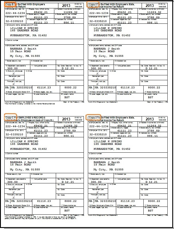 ... Forms W-2 & 1099 As Easy as 1, 2, 3   small business payroll